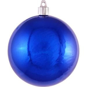 Christmas by Krebs 4-3/4 in. Azure Blue Shatterproof Ball Ornament (Pack of 36)-CBK50594 206214936