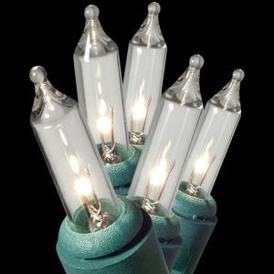 GE String-A-Long 100-Light Clear ConstantON Miniature Light Set-64426HD 203267244