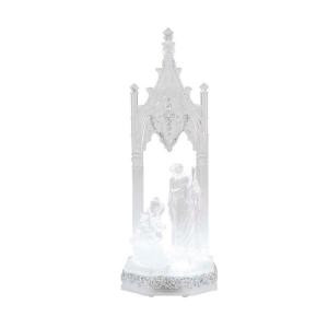Home Accents Holiday 12 in. Crystalline Nativity Scene-5246-12588HD 205928393