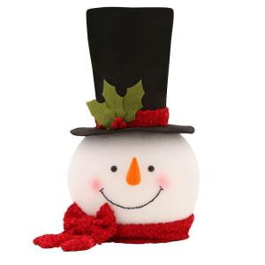 Home Accents Holiday 18 in. Snowman Tree Topper-TXF1794 205080822