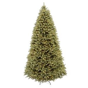 Home Accents Holiday 9 ft. Pre-Lit Downswept Douglas Fir Artificial Christmas Tree with Clear Lights-PEDD1-312-90 202874644