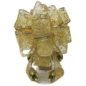 Home Accents Holiday Gold Tree Topper Bow-6339AS40GDHD 205919967
