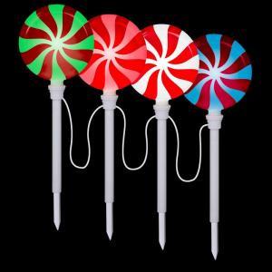 LightShow Lollipop Pathway Stake (Set of 4)-80287 202374116