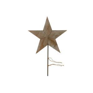 Martha Stewart Living 23 in. H Reclaimed Wood Tree Topper-1220610910 300332210