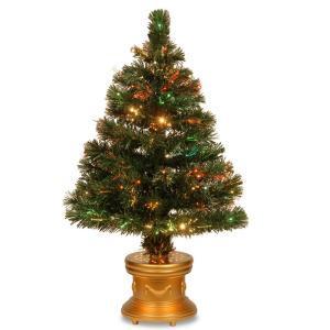 National Tree Company 3 ft. Fiber Optic Radiance Fireworks Artificial Christmas Tree-SZRX7-100L-36-1 300496217