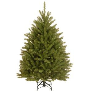 National Tree Company 4-1/2 ft. Dunhill Fir Hinged Artificial Christmas Tree-DUH-45 207183149
