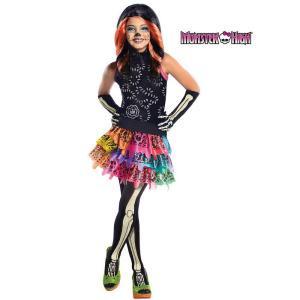 Rubie's Costumes Girls Skelita Calaveras Monster High Costume-R886700_L 204454334