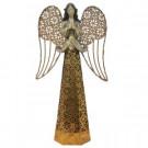 13.38 in. Lit Resin/Metal Angel in 3 Assorted-MX4035C 206963202