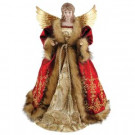 16 in. Red Imperial Angel Tree Topper-3070 303068493