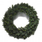36 in Unlit Multi Pine Wreath with 260 tips-14902 303072326