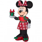 42 in. Inflatable Airblown-Minnie with Present-84233 301693827