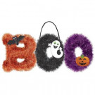 Amscan 10.5 in. x 18 in. Boo Tinsel Decoration (2-Pack)-241460 300598937