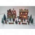 Home Accents Holiday 5.82 in. Village Set-Post Office (20-Pieces)-THD-HH-091 301575638