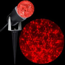 LightShow 10.24 in. LED Kaleidoscope (Red) Stake-49584 300867061