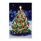 Mr. Christmas 18 in. x 28 in. Interactive IlluminArt Tree-10983 207212965