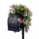 National Tree Company 36 in. Wintry Pine Collection Mailbox Cover-WP1-813-3-1 204233452
